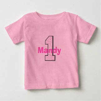 Add Your Child's Name 1st Birthday Girl Shirt