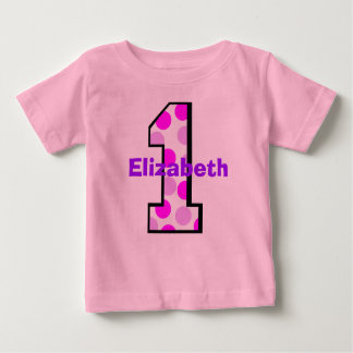 Add Your Child's Name 1st Birthday  Shirt
