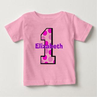 Add Your Child's Name 1st Birthday  Shirt