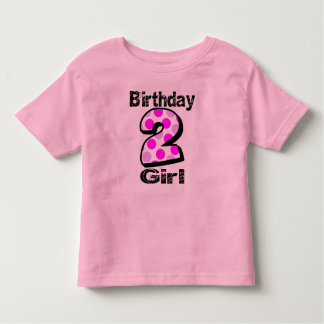 Add Your Child's Name 2nd Birthday  Shirt