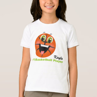 Add Your Childs Name Basketball Shirt