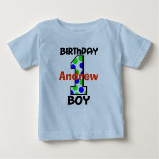 Add Your Child's Name Birthday Boy Shirt