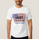 Add Your Child's Name Proud Army Father Shirt