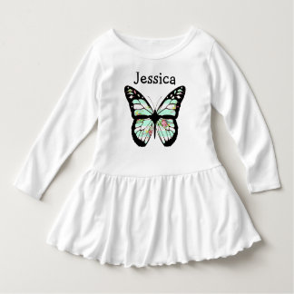 Add your Child's Name to this cute Butterfly Dress