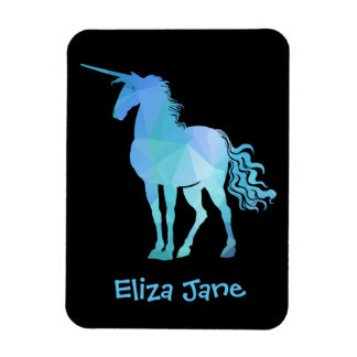 Add Your Child's Name To Unicorn Magnet
