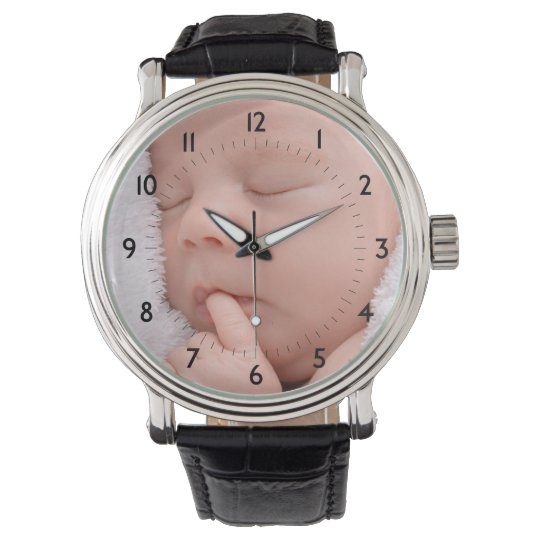 Add Your Child's Photo Custom Watch