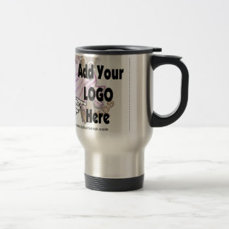 Add Your Company LOGO as Client or Employee Gifts Travel Mug