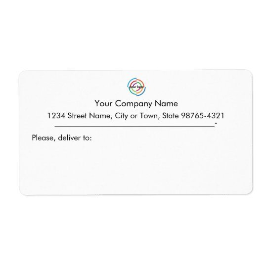 Add your Custom Logo custom Business address Shipping