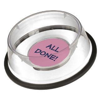 Add your favorite pet message pet bowl