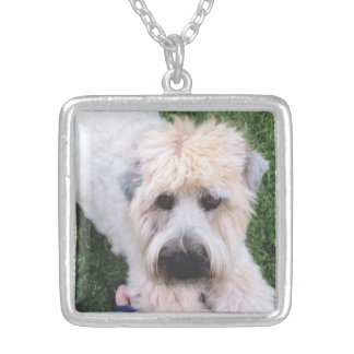 Add your favorite pet photo pendant necklace