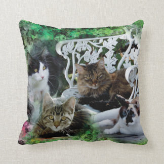 Add your favorite pet photo pillow throw cushions