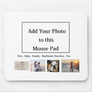 Add Your Favorite Photo to this Mouse Pad! Mouse Mat