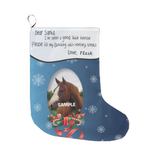 ADD YOUR HORSE Photo and Name Dear Santa