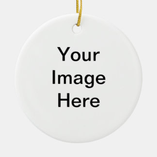 """Add Your Image"" Arts4Charity Christmas Ornament"