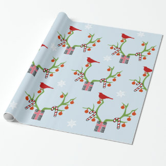 Add Your Image/Logo Reindeer Antlers Christmas Wrapping Paper
