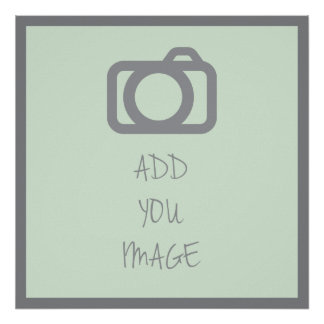 ADD YOUR IMAGE | TEMPLATE  | DIY | CUSTOMIZE POSTER