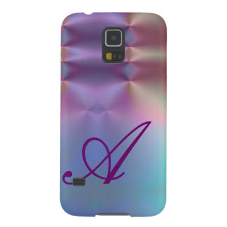 Add your letter - colorful monogram galaxy s5 covers