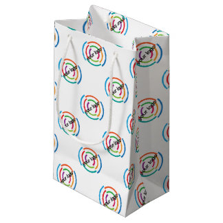 ADD Your LOGO CUSTOM company business CORPORATE Small Gift Bag