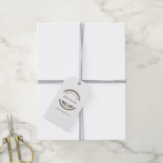 ADD YOUR LOGO   Promotional  Professional Gift Tags