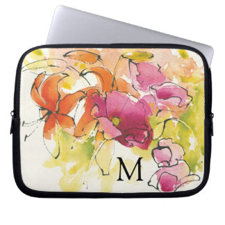 Add Your Monogram | Pattys Plum Laptop Sleeve