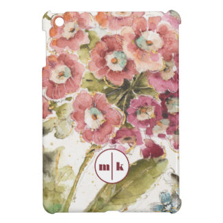 Add Your Monogram | Pink Primrose iPad Mini Cases
