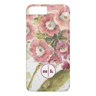 Add Your Monogram | Pink Primrose iPhone 8 Plus/7 Plus Case