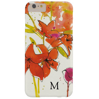 Add Your Monogram | The Plum of Patty Barely There iPhone 6 Plus Case