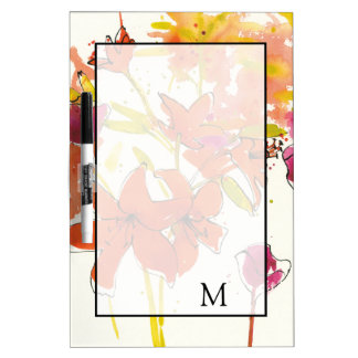 Add Your Monogram | The Plum of Patty Dry Erase Board