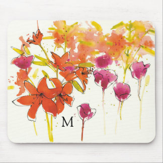Add Your Monogram | The Plum of Patty Mouse Mat