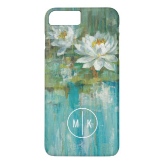 Add Your Monogram | Water Lily Pond iPhone 8 Plus/7 Plus Case