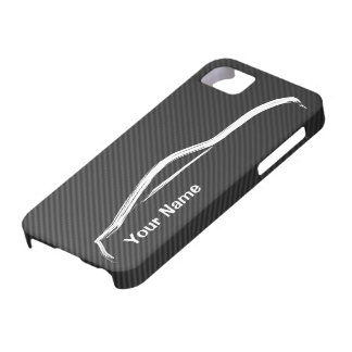 """add your name"" 370z w/ Faux Carbon Fiber iPhone 5 Cover"