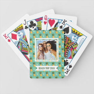Add Your Name | Bright Pineapples Bicycle Playing Cards