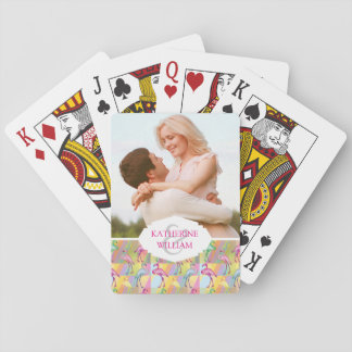 Add Your Name | Flamingo Parade Playing Cards