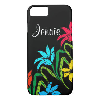 Add Your Name Floral I Phone 6 Phone Case