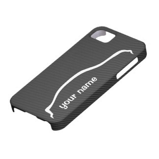 """add your name"" G35 Sedan w/ Faux Carbon Fiber iPhone 5 Case"