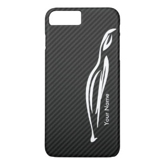 Add your name - Hyundai Genesis Coupe silhouette iPhone 7 Plus Case