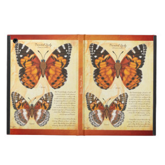 Add Your Name Painted Lady Butterfly iPad Air Cover