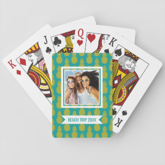 Add Your Name | Pineapple Tropical Fruit Playing Cards