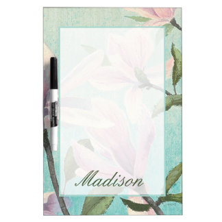 Add Your Name | Pink Blossoms from the South Dry Erase Board