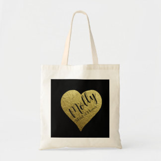 Add your name tote bag personalised