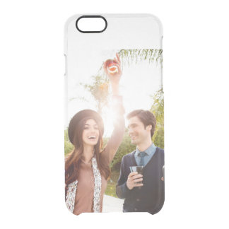 Add your own engagement save the date photo clear iPhone 6 plus case