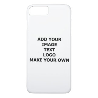 Add Your Own Image, Name, Text Or Logo If You Want iPhone 8 Plus/7 Plus Case