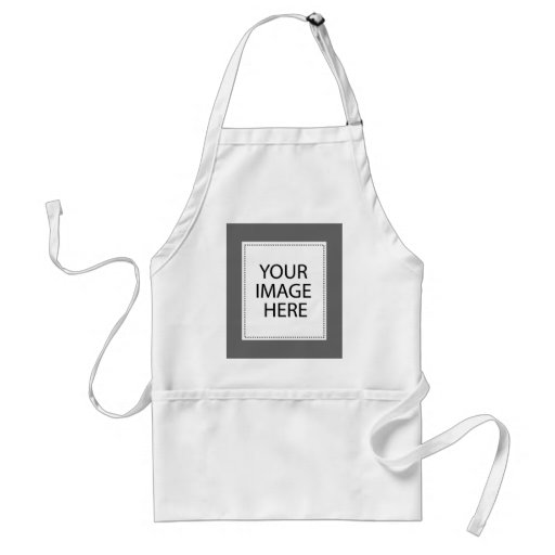 Add Your Own Image Or Text Aprons