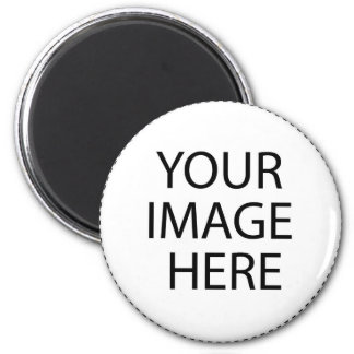 Add Your Own Image or Text Here 6 Cm Round Magnet