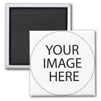 Add Your Own Image Or Text Square Magnet