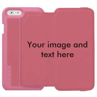 Add your own image, photo, art, and words incipio watson™ iPhone 6 wallet case