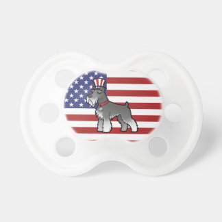 Add Your Own Pet and Flag Baby Pacifiers