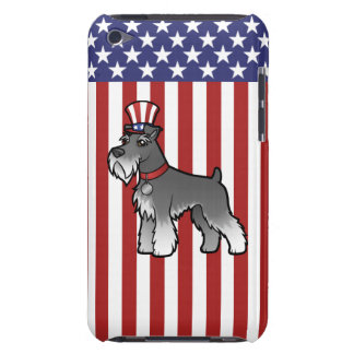 Add Your Own Pet and Flag Barely There iPod Case