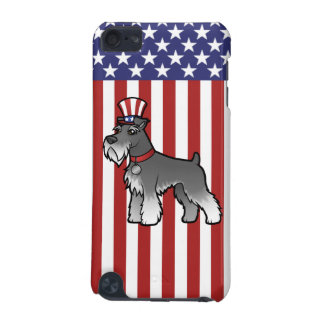 Add Your Own Pet and Flag iPod Touch (5th Generation) Cover