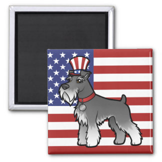 Add Your Own Pet and Flag Magnet